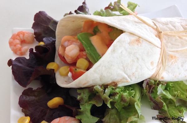 recette-wrap roulé-entrée-apéritif-roule-wrap-avocat-crevette