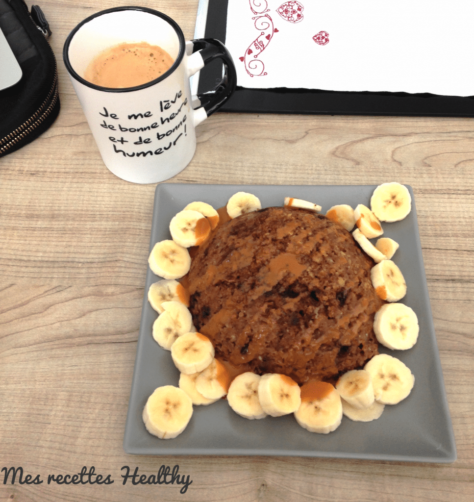 bowl cake à la banane-bowl cake-bowlcake-choco-banane