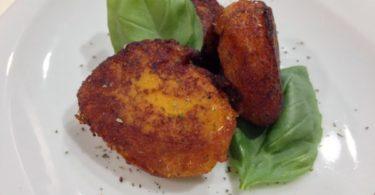 recette-croquette de potimarron-croquette,potimarron-basilic-olive