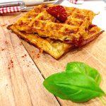 recette-sans lait-sans lactose-gaufre-patate-tomate-tortillas-recette salée