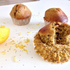muffin-citron-pavot-sans beurre