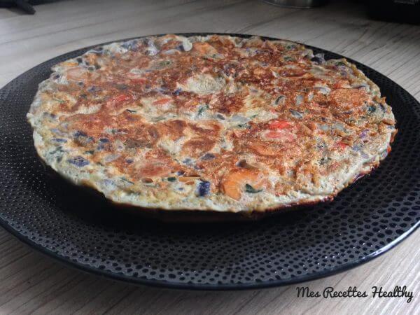 omelette-legumes espagnole