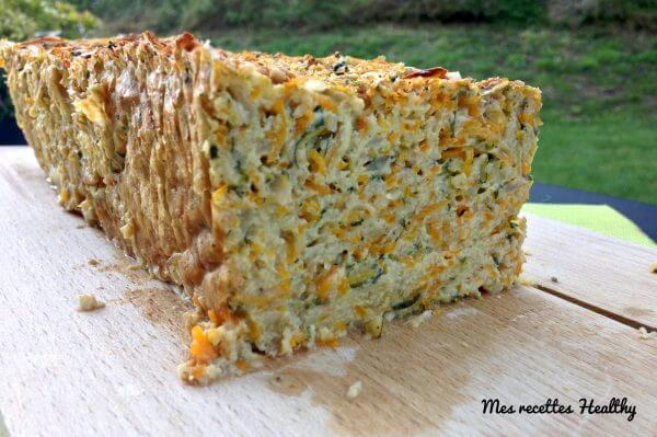 recette-pain de légumes-pain-sans lait-legume-soja-carotte-courgette