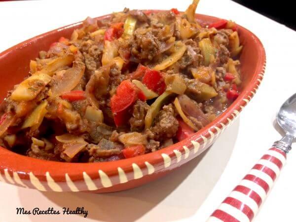 recette-poele mexicaine-poêle-mexicaine-boeuf-oignon-légume