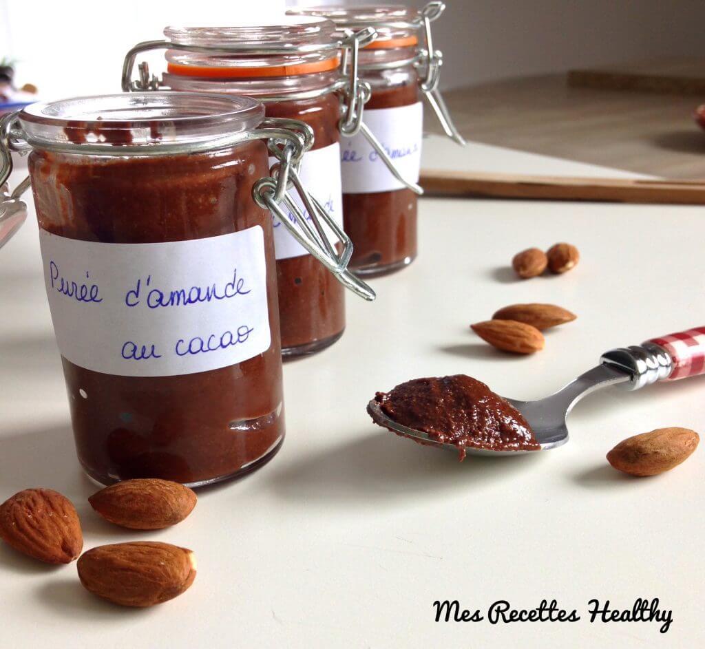 recette-cadeaux gourmands-purée d'amande -recette-purée d'amande maison-oléagineux-fruit sec-puree-amande-amandes-healthy