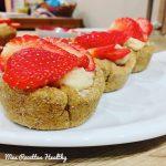 recette-tarte-tartelette-fruit-pâte sablée-sans beurre-healthy-tartelette sablée