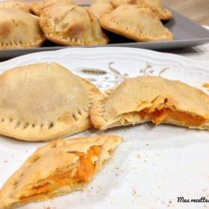 recette-tarte-chausson-tourte de patate douce-patate douce-sweet potatoes-tourte-patate-poulet