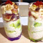 verrine-petit-dejeuner-flocon d'avoine-porridge-healthy