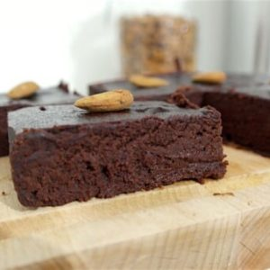 brownie,betterave,amande