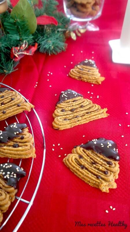 recette-biscuit de patate douce-biscuit-noel-patate douce-spritz
