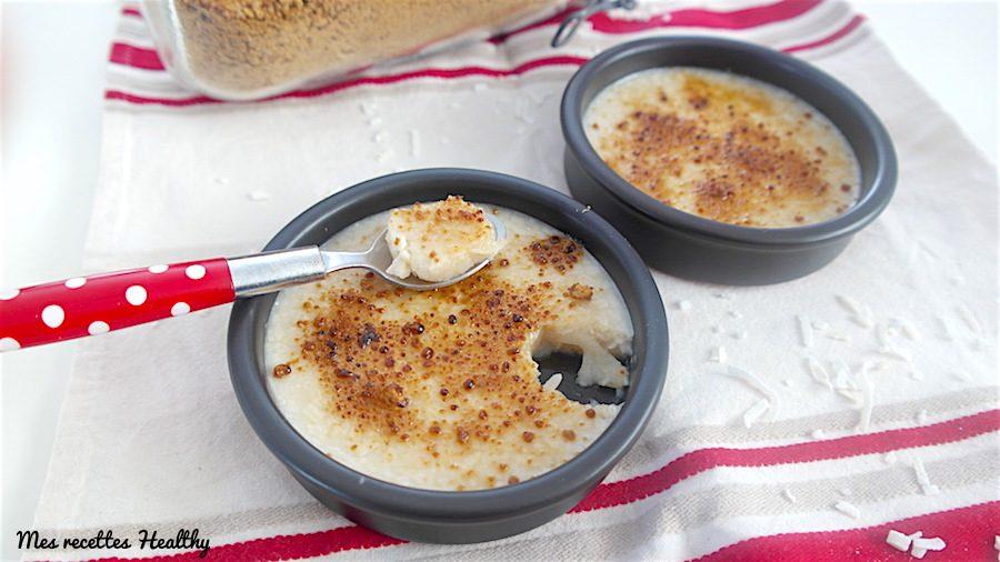 Crema Receta Crema Brulé-Cream-Healthy-Vegan-Coco-Soy-Libre de huevo