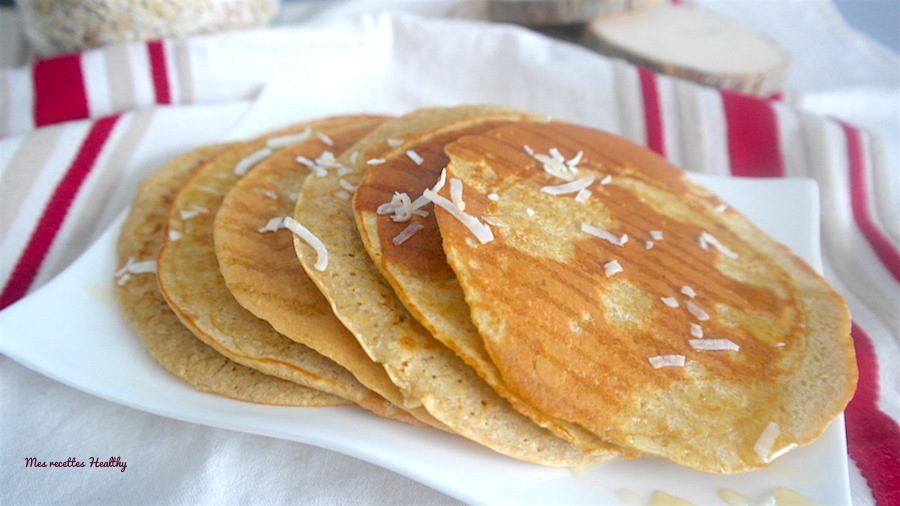 pancake,pancakes,avoine,coco