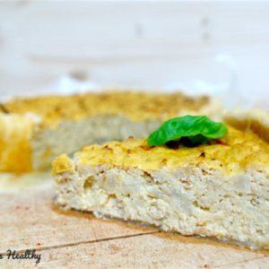 recette-tarte au chou-fleur-tarte,chou-fleur,fromage,tomate,thon,leger