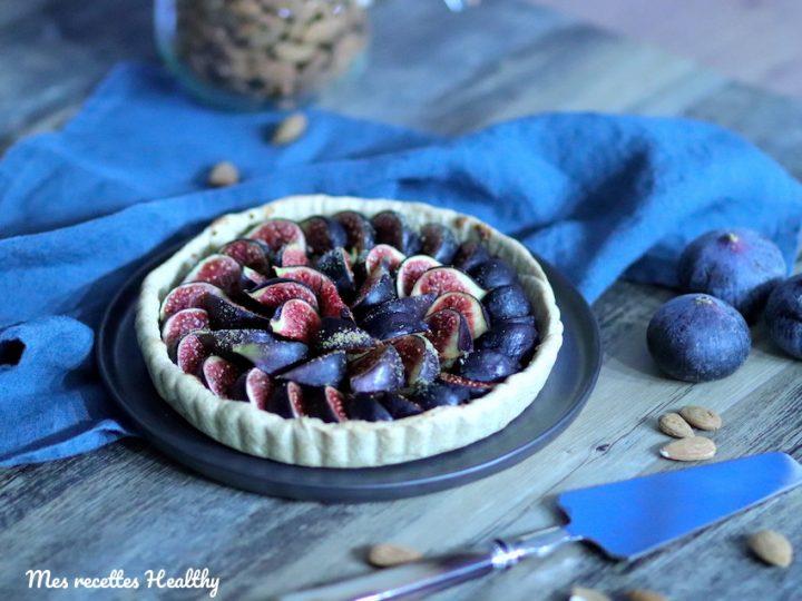 tarte aux figues-vegan-recette-tarte-fruit-figue-figues-healthy