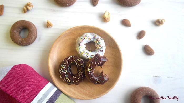 Biscuit façon donut sans oeuf au chocolat