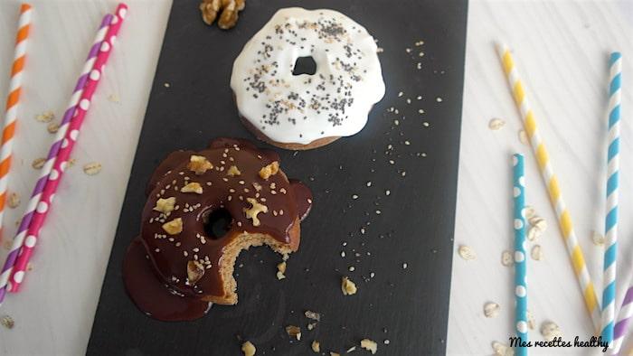 Donut complet à l'épeautre et au teff sans beurre