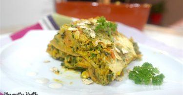 Lasagne complète aux légumes