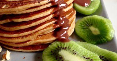 Pancake moelleux au fromage blanc