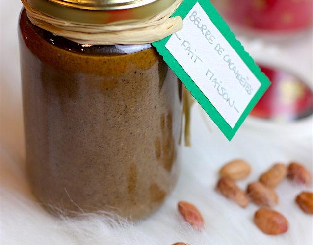 recette healthy-beurre cacahuète maison-noel-tartine-gateau