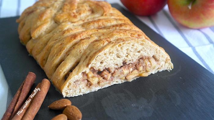 brioche tressée-recette-tressee-amande-pomme-cannelle-cacao-brioche
