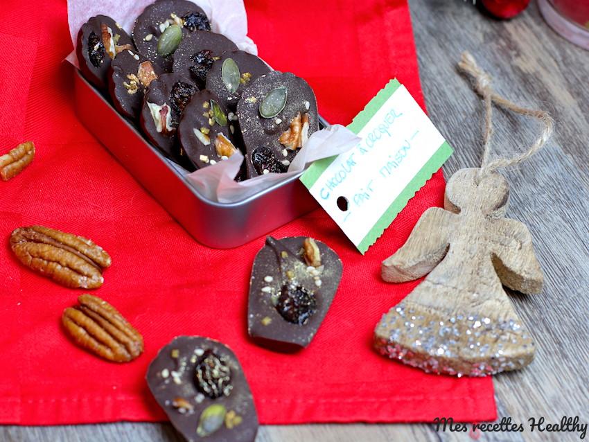CHOCOLAT À CROQUER AUX GRAINES ET FRUITS SECS