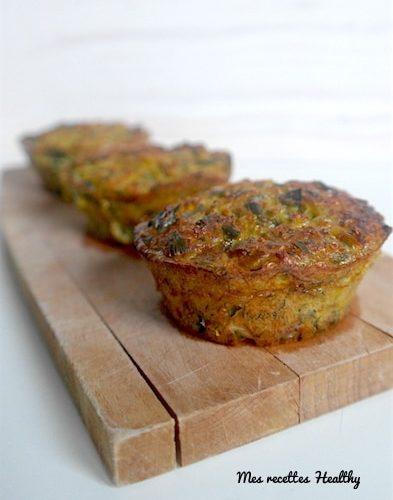 Muffin sans gluten au quinoa et poireau