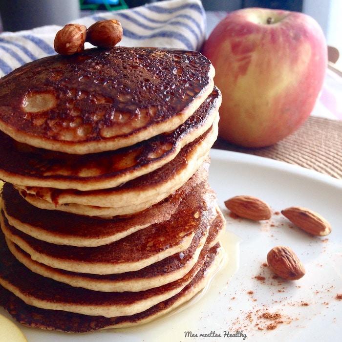 Pancake à la banane et amande