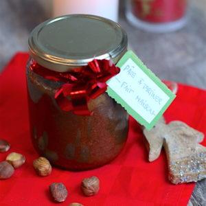 Pâte à tartiner maison chocolat noisette et amande