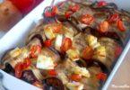 Cannelloni d'aubergine au boeuf et à la feta
