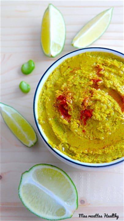 recette-houmous-feves-feves-sesame-pois chiches-curcuma-cumin-paprika-lait de coco-citron vert-huile olive-tartine-apéritif-crackers-aperitif-aperitifs