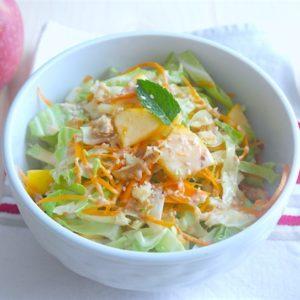 recette-chou-choux-pointu-carotte-pomme-fenouil-cacahuete-citron-entrée-salade