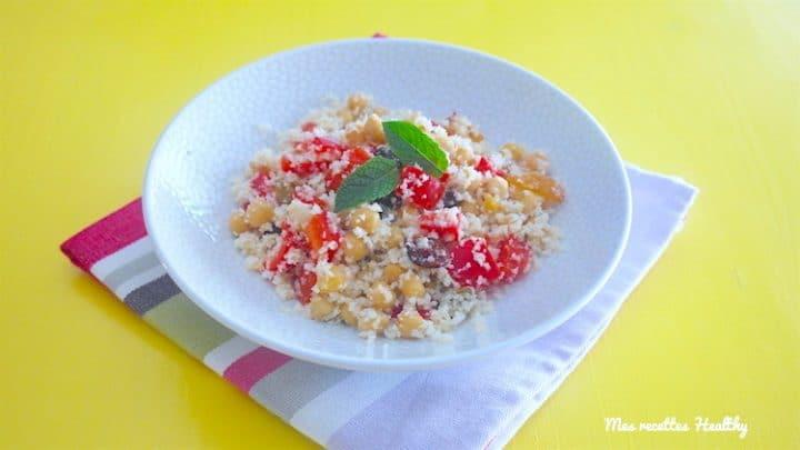 recette-salade-entree-taboule-chou-choux-fleur-pois-pois chiches-raisin-cranberrie-cranberry-poivron-miel-citron
