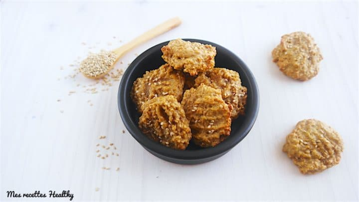 Biscuit au tahin graine de sésame