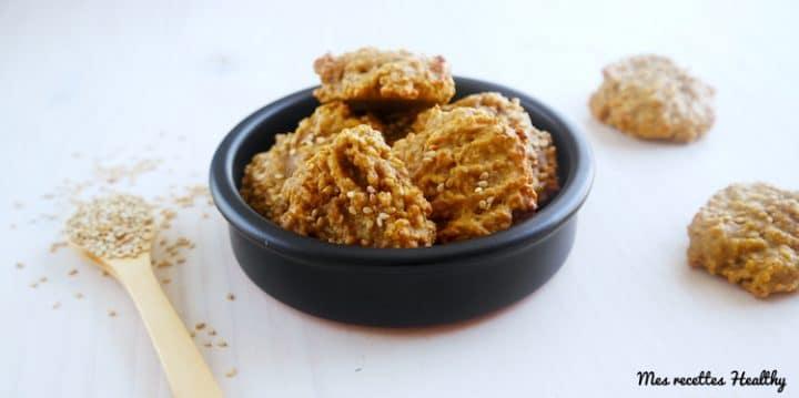 recette-sésame-gateau-biscuit-tahin-tahiné-vanille-sans beurre-sans lactose-sans lait