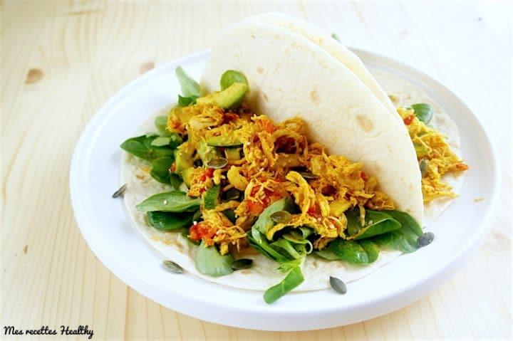 recette-tacot-tortillas-fajitas-tacos healthy-poulet-avocat-epice-tomate-courgette-legume-sesame-graine