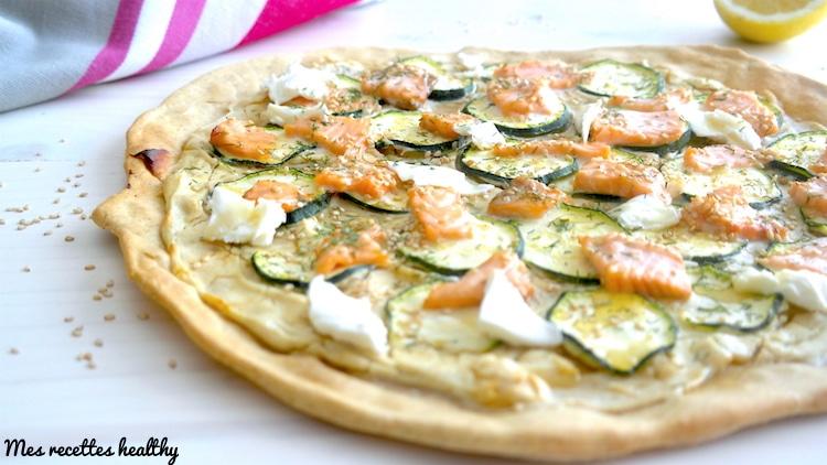 tarte fine-recette-tarte-saumon-courgette-epice-fromage