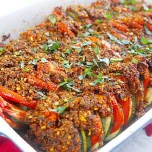 recette-tian-legume-tomate-courgette-pesto-amande-huile-facile