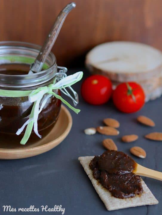 recette-pesta-tomate-amande-confite-séchee-pesto rosso-pesto de tomate-facile-maison