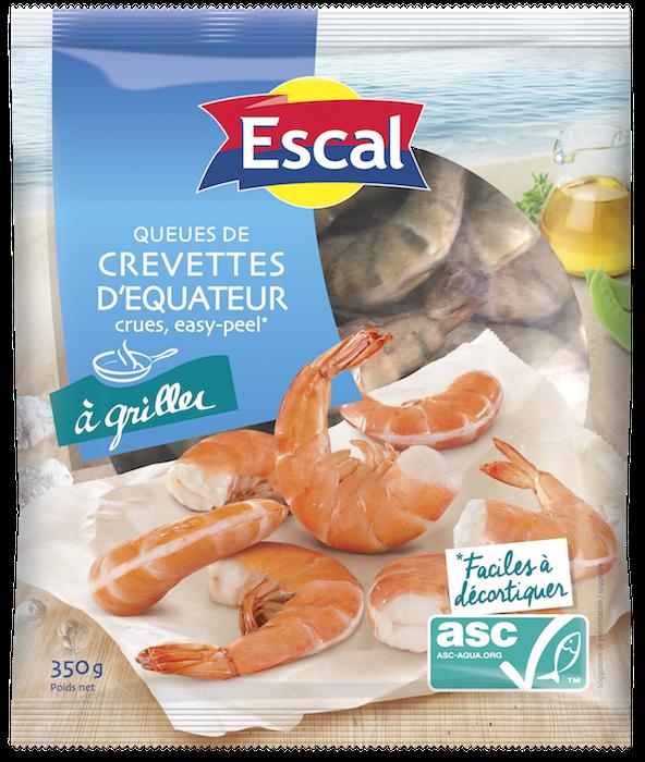 recette-crevette-easy peel-Escal