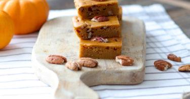 Gâteau à la courge butternut et noix de Pécan
