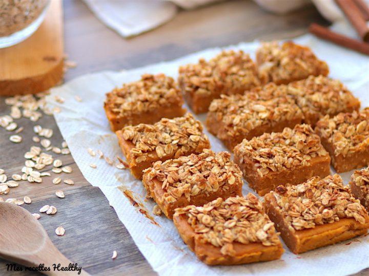 fondant à la patate douce-recette-gâteau à la patate douce-granola-healthy-vegan-sans lait-sans lactose-sans oeuf-fondant-epice-automne