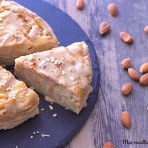 recette-flognarde-flaugnarde-poire-flognarde à la poire-sans lait-sans lactose-amande-healthy
