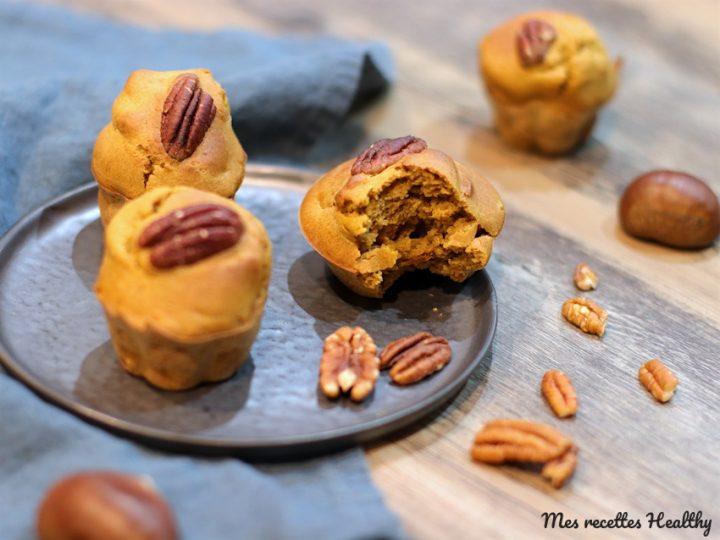 Muffin à la crème de marron et au potiron