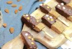 sucette-halloween-banane-arachide-beurre de cacahuete-peanut butter-chocolat