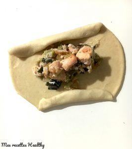 recette-cuisine-russe-rasstegai au saumon-poireau-ricotta-tarte-noel