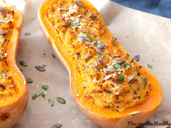 recette-courge-butternut-farcie-garni-poireau-parmesan-quinoa-healthy-fromage