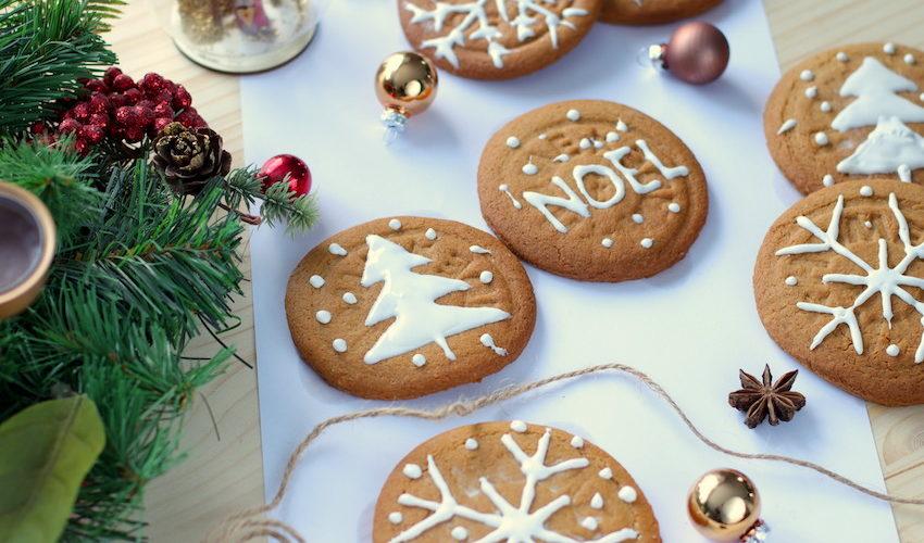 Biscuit sablé de Noël aux épices sans beurre