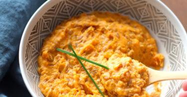 recette-risotto à l'épeautre-petit épeautre-patate douce-parmesan-epice