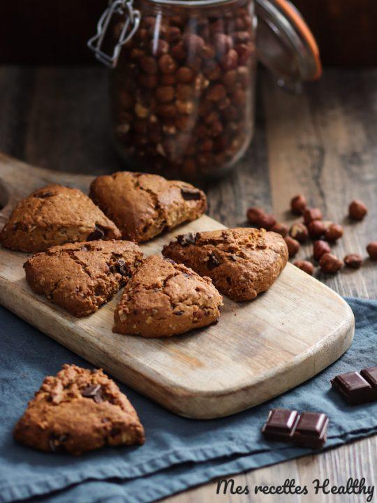 recette-scone-anglais-biscuit-flocon d'avoine-chocolat-noisette