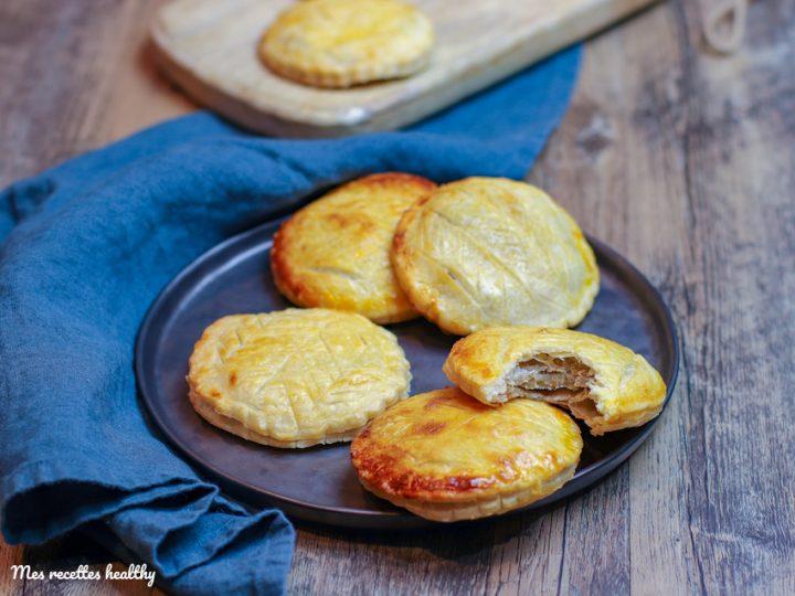 recette-épiphanie-galette des rois à la banane-fruit-noix de coco-feuilletée-tarte-galettes des rois